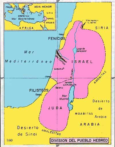 Mapa de la Cultura Hebrea