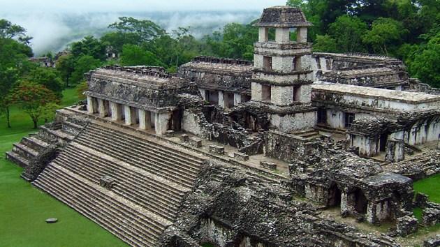 El palacio Palenque