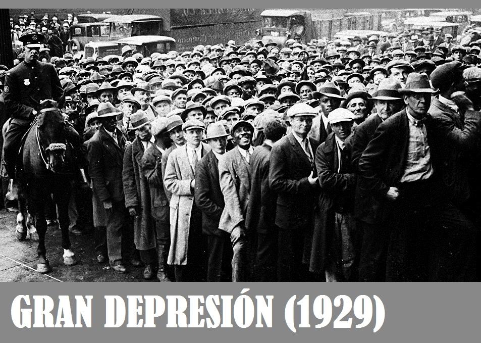 Gran Depresión, Crisis de 1929