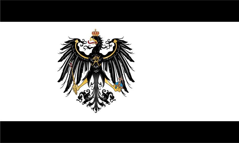 Bandera del Reino de Prusia