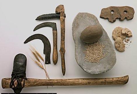 Herramientas y armas del Neolítico