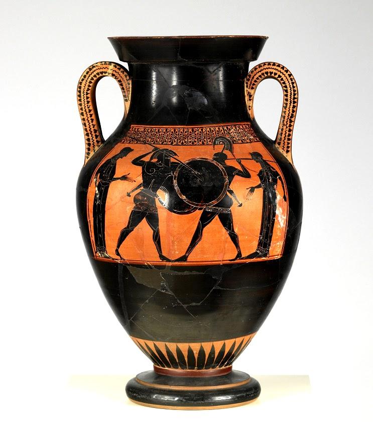 Jarrones de Cerámica de la Antigua Grecia