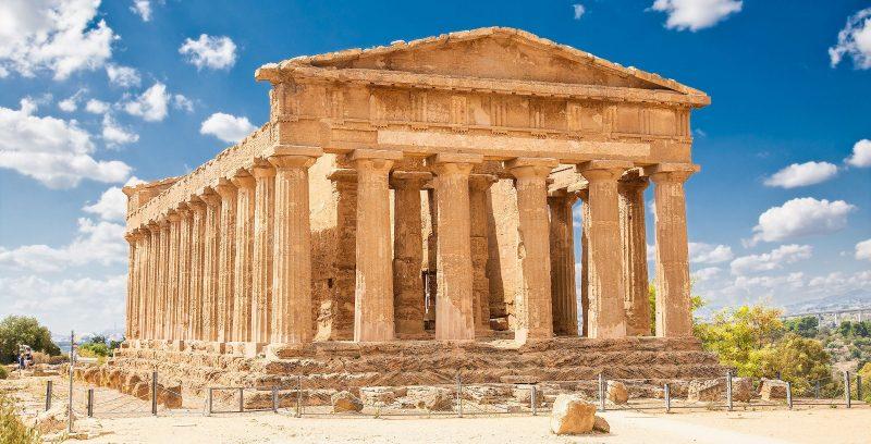 Partenon Acropolis construido en el Periodo de Grecia clásica