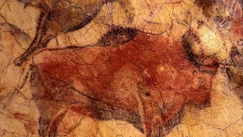 Pintura Rupestre realizada en el Paleolítico