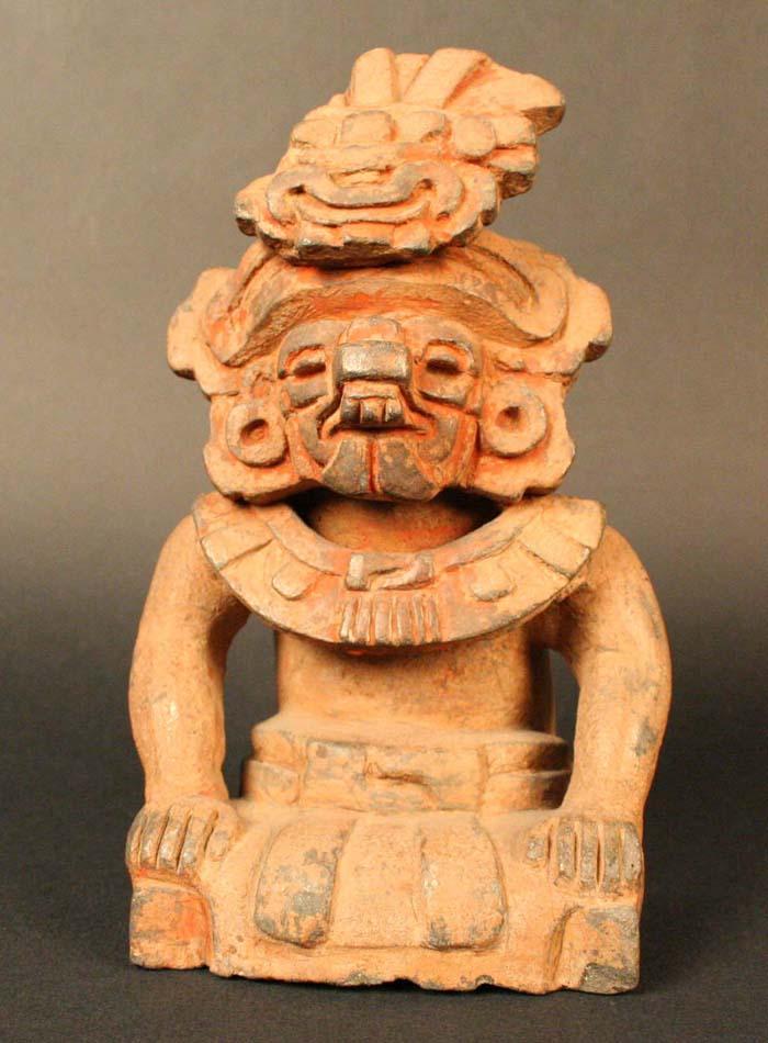 Urna funeraria zapoteca, Cocijo: Dios de la Lluvia