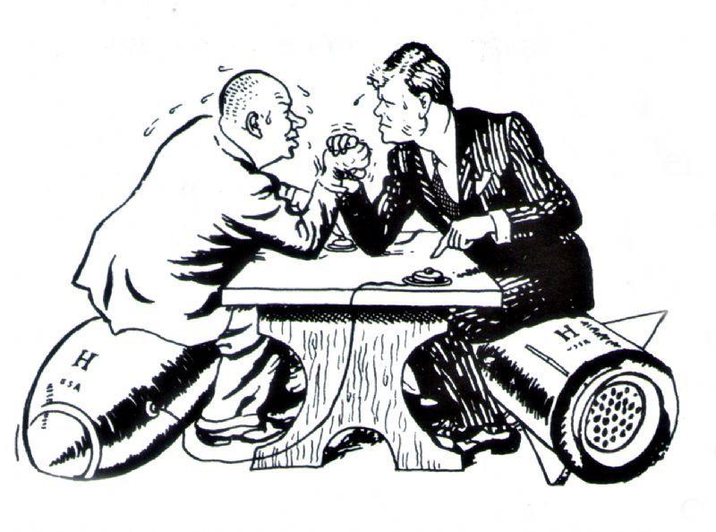 Crisis de los Misiles, Nikita Jrushchov y John F. ennedy