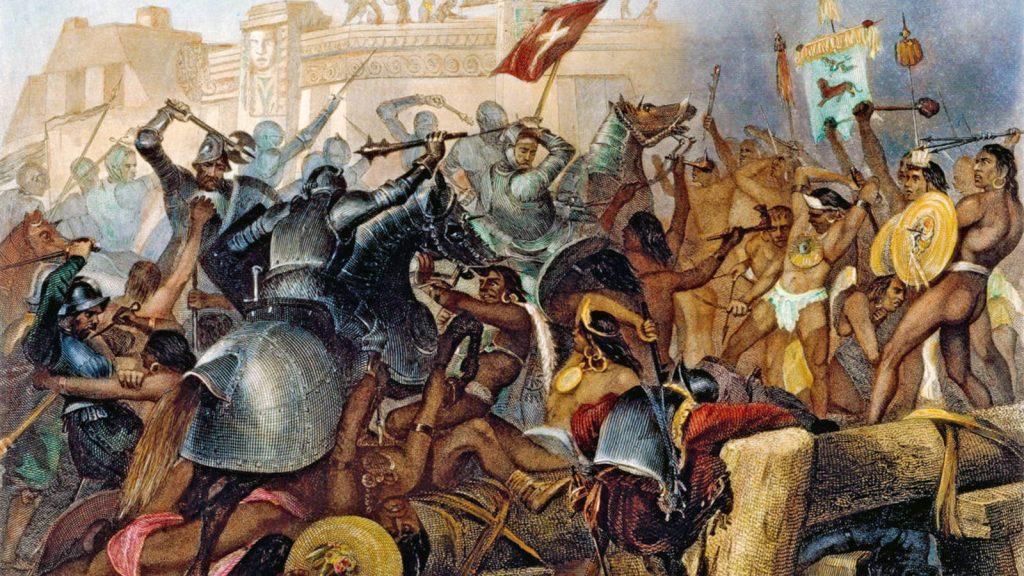 Ilustración de la Guerra Chichimeca
