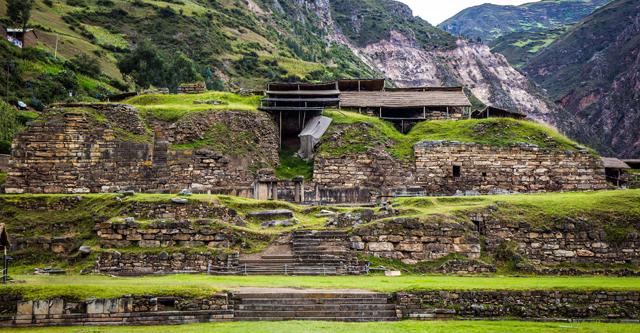 Ruinas Chavín de Huantar. Fueron declaradas Patrimonio de la Humanidad hace más de 30 años