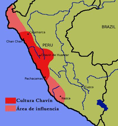 Ubicación Geográfica de la Cultura Chavin