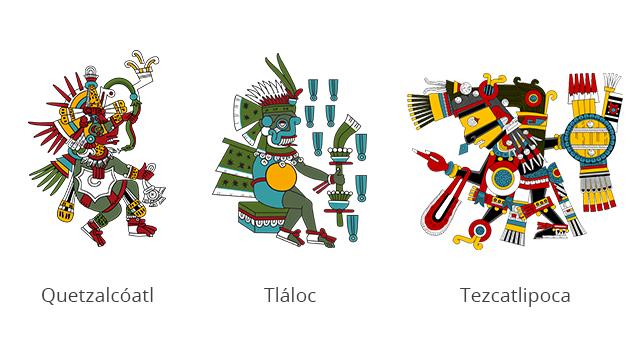 Principales dioses aztecas