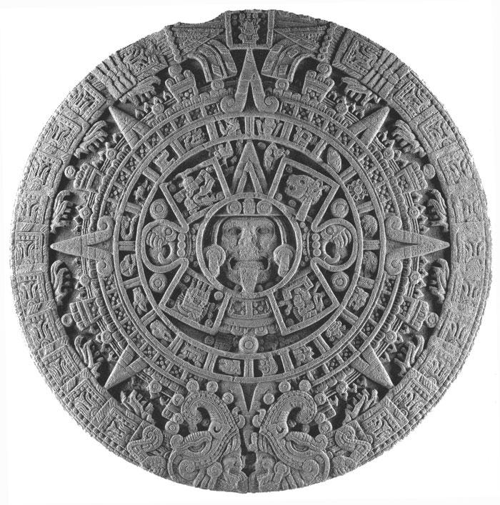 Así es como se ve el Calendario Azteca, la Piedra del Sol