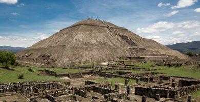Piramide del Sol de Teotihuacan