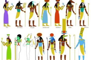 Principales Dioses Egipcios